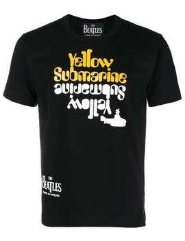 The Beatles X Comme Des Garçonslyrics Printed T Shirthome Men The Beatles X Comme Des Garçons Clothing T Shirts by The Beatles X Comme Des Garçons