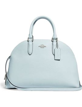 Quinn Leather Dome Satchel by Coach