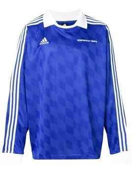 Gosha Rubchinskiy Gosha Rubchinskiy X Adidas Logo Long Sleeve Polo Tophome Men Gosha Rubchinskiy Clothing Polo Shirts by Gosha Rubchinskiy