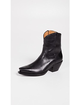 Cowboy Ankle Boots by R13