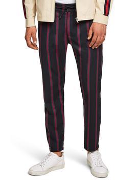 Stripe Woven Jogger Pants by Topman