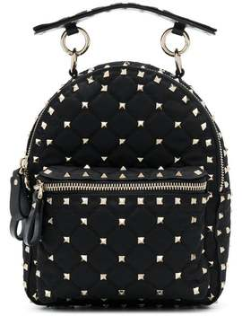 Valentinostudded Mini Backpack Home Woman Valentino Bags Backpacks by Valentino
