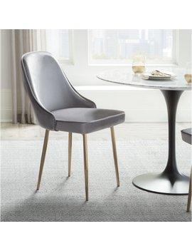 Orren Ellis Mariselys Contemporary Velvet Upholstered Dining Chair & Reviews by Orren Ellis