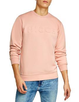 Nicce Slim Fit Embossed Sweatshirt by Topman