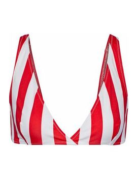 The Beverly Striped Bikini Top by Solid & Striped