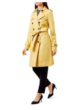 Saskia Trench Coat   100 Percents Exclusive by Hobbs London