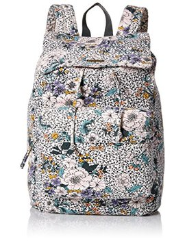 O'neill Women's Starboard Floral Print Drawcord Backpack Accessory, Black/Black, One by O%27 Neill