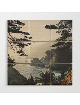 Big Sur Wood Wall Art by
