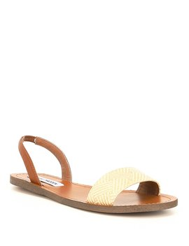 Alina Raffia Slingback Sandals by Steve Madden