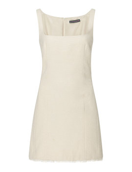 Fitted Gabardine Mini Dress by Alexachung