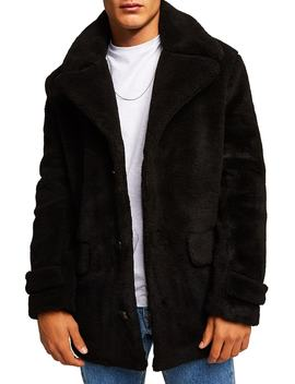 Faux Fur Coat by Topman