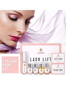 Eyelash Perm Kit, Professional Quality Lash Lift, Semi Permanent Curling Perming Wave, Lotion & Liquid Set by Asa Vea