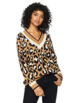 Cable Stitch Women's Animal Print Jacquard Sweater by Cable+Stitch