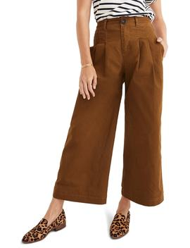 Pleated Wide Leg Pants by Madewell