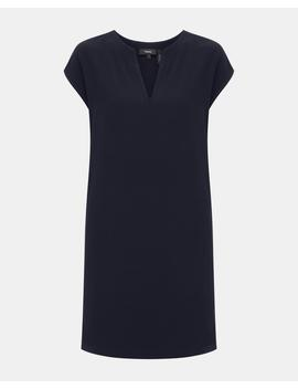 Crepe V Neck Tunic by Theory