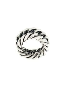 Ugo Cacciatorichain Link Ringhome Men Ugo Cacciatori Jewelry Rings by Ugo Cacciatori