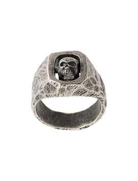 Tobias Wistisen Spinning Skull Ringhome Men Tobias Wistisen Jewelry Rings by Tobias Wistisen