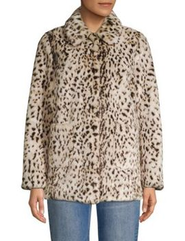 Lync Faux Fur Jacket by La Vie Rebecca Taylor