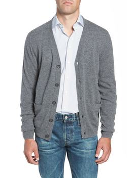 Cashmere Button Front Cardigan by Nordstrom Men's Shop