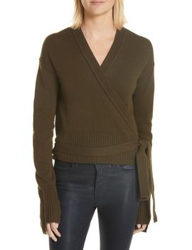 Cashmere Wrap Cardigan by Helmut Lang