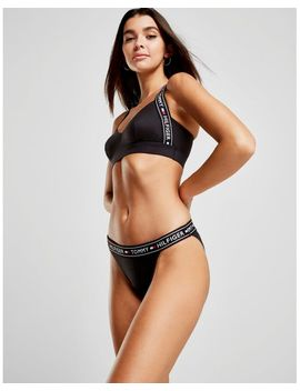 Women's Black Briefs by Tommy Hilfiger