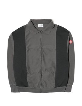 Overdye Paneled Cardigan by Cav Empt
