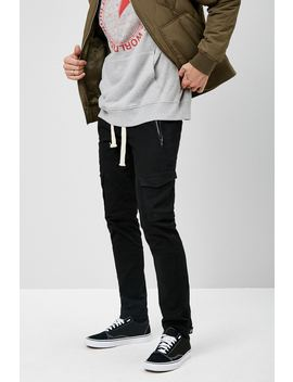 American Stitch Drawstring Cargo Pants by Forever 21