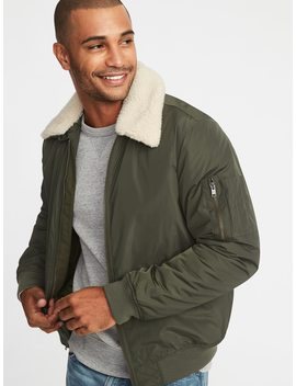 Water Resistant Aviator Jacket For Men by Old Navy