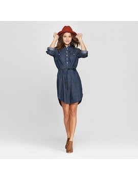 Women's Denim Shirt Dress   Universal Thread™ by Universal Thread™
