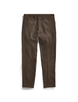 Wool Blend Officer's Chino by Ralph Lauren