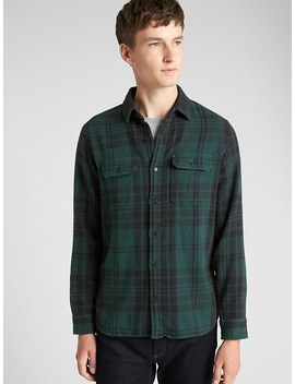Heavyweight Flannel Overshirt by Gap