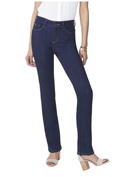 Marilyn Sure Stretch Straight Jeans by Nydj
