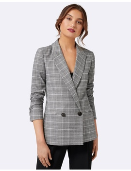 Laura Check Blazer by Forever New