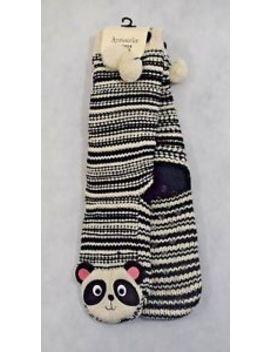 Bnwt Accessorize Knitted Panda Slipper Socks   One Size 4 7 (R38) by Ebay Seller