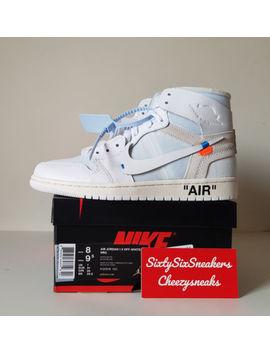Nike Air Jordan 1 Nrg Off White Eu Exclu   8 Us 7 Uk 41 Eu New Ds by Ebay Seller