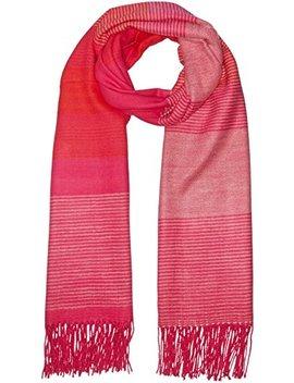 Echo New York Women's Soft Stripe Blanket Wrap Scarf by Echo New York