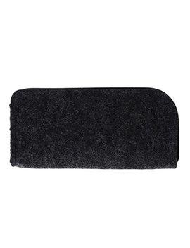 Jagenie Square Felt Makeup Cosmetic Bag Brush Pen Pencil Case Pouch Box Office Supplies   Black by Jagenie