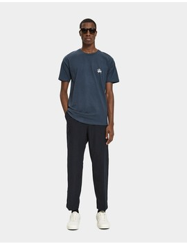 Bryan Chino Pant In Navy by Stüssy