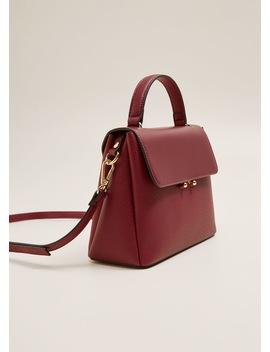 Kapaklı çapraz çanta by Mango