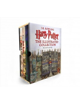Harry Potter : The Illustrated Collection    (Harry Potter) By J. K. Rowling (Hardcover) by Target
