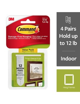 Command Picture Strips Med 12pk by Command