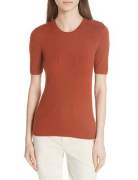 Taylor Ribbed Cashmere Sweater by Tory Burch