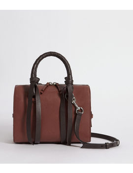 Voltaire Small Leather Bowling Bag by Allsaints