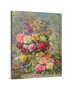 "Albert Williams Premium Thick Wrap Canvas Wall Art Print Entitled Sweet Fragrance Of A Summer's Day 20""X24"" by Canvas On Demand"