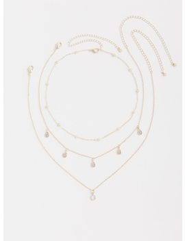 Rose Gold Chain Choker   Pack Of 3 by Torrid