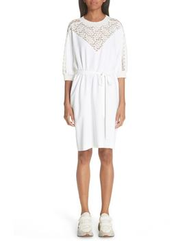 Lace Front Dress by Stella Mccartney
