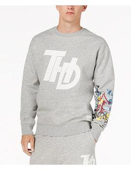 Men's Graffiti Sweatshirt, Created For Macy's by Tommy Hilfiger Denim