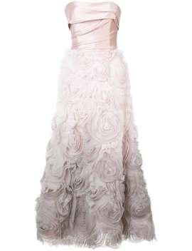 Marchesa Nottestrapless Ombré Gownhome Women Marchesa Notte Clothing Evening Dresses by Marchesa Notte