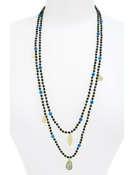 Layer Bead Necklace by Panacea