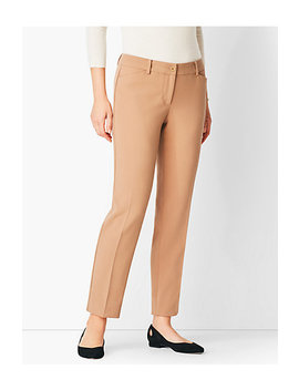 Talbots Hampshire Compact Crepe Ankle Pant by Talbots